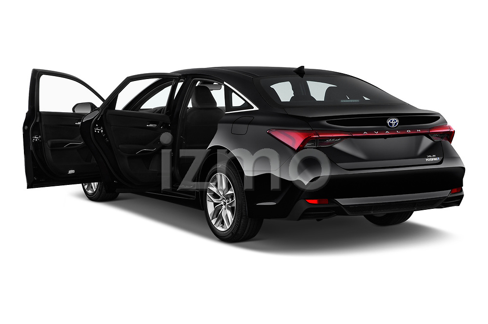 Car images close up view of a 2019 Toyota Avalon XLE Hybrid 4 Door Sedan doors