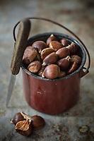 Gastronomie Générale /Diététique : Châtaignes bio AB des Cévennes a//  General Gastronomy / Diet: Organic Chestnuts AB des Cévennes