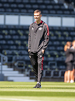 18th July 2021; Pride Park, Derby, East Midlands; Pre Season Friendly Football, Derby County versus Manchester United; Matej Kovar of Manchester United inspects the playing surface