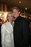 Schwimmerin Kristin Otto mit Mann