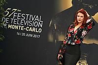 COURTNEY HOPE - Photocall 'AMOUR GLOIRE ET BEAUTE' - 57ème Festival de la Television de Monte-Carlo. Monte-Carlo, Monaco, 18/06/2017. # 57EME FESTIVAL DE LA TELEVISION DE MONTE-CARLO - PHOTOCALL 'AMOUR GLOIRE ET BEAUTE'