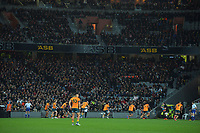 A packed grandstand during the Bledisloe Cup rugby match between the New Zealand All Blacks and Australia Wallabies at Eden Park in Auckland, New Zealand on Saturday, 7 August 2021. Photo: Dave Lintott / lintottphoto.co.nz