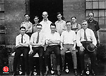 Diamond Bottling Works employees, august 12, 192. This company, later known as Diamond Ginger Ale, Inc., was located on South Main Street in Waterbury.