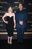 """October 12, 2021. Sarah Snook, Matthew Macfadyen attend HBO's """"Succession"""" Season 3 Premiere at the  American Museum of Natural History in New York October 12, 2021 Credit: RW/MediaPunch"""
