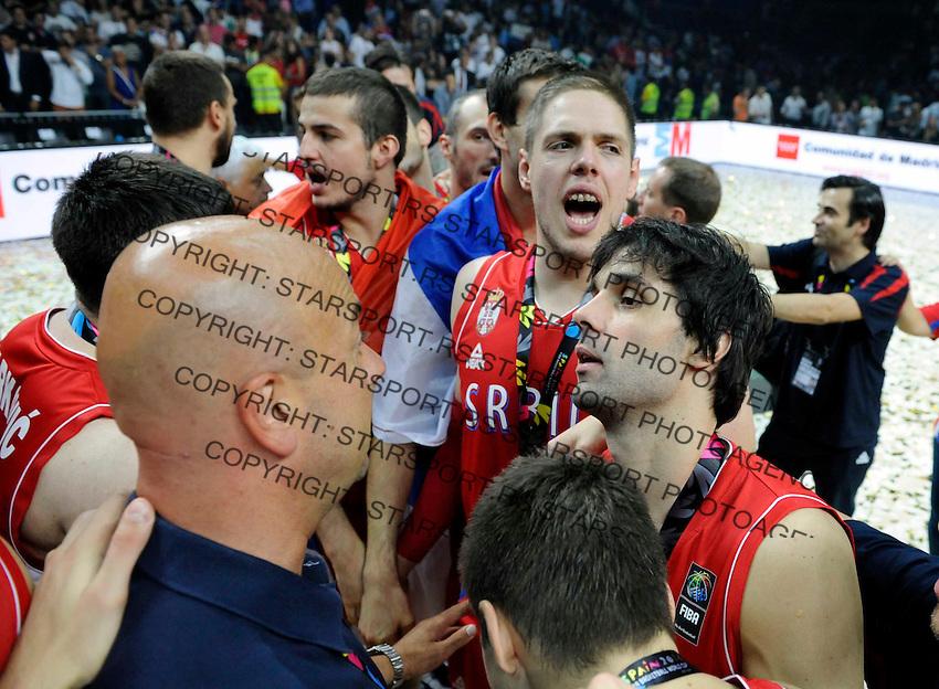 SERBIA - USA BASKETBALL WORLD CUP SPAIN MADRID final, finale Srbija - SAD<br /> sunday September 14. 2014. Milos Teodosic