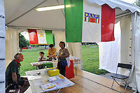 - Milano,  giugno 2016, festa nazionale della FIOM, sindacato dei lavoratori metalmeccanici della CGIL<br /> <br /> - Milan, June 2016, national feast of the FIOM, metalworkers' union of the CGIL