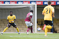 Ademipo Odubeko, West Ham U21's fires the opening goal during Southend United vs West Ham United Under-21, EFL Trophy Football at Roots Hall on 8th September 2020