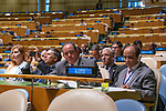 General Assembly Seventy-third session, 14th plenary meeting<br /> <br /> <br /> His Excellency Abdelkader MESSAHELMinister of Foreign Affairs of Algeria<br /> <br /> Delegate