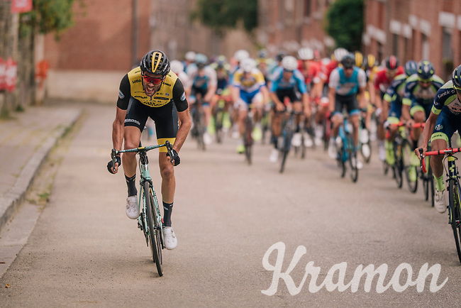 Maarten Wynants (BEL/LottoNL-Jumbo)<br /> <br /> 52nd GP Jef Scherens - Rondom Leuven 2018 (1.HC)<br /> 1 Day Race: Leuven to Leuven (186km/BEL)