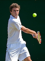25-6-09, England, London, Wimbledon, Gilles Simon