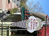 Scruffy's ice Cream parlor, Middleburg, Va.