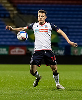 Bolton Wanderers' Tom White controlling the ball<br /> <br /> Photographer Andrew Kearns/CameraSport<br /> <br /> EFL Papa John's Trophy - Northern Section - Group C - Bolton Wanderers v Newcastle United U21 - Tuesday 17th November 2020 - University of Bolton Stadium - Bolton<br />  <br /> World Copyright © 2020 CameraSport. All rights reserved. 43 Linden Ave. Countesthorpe. Leicester. England. LE8 5PG - Tel: +44 (0) 116 277 4147 - admin@camerasport.com - www.camerasport.com