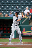 Corpus Christi Hooks right fielder Kyle Tucker (12) at bat during a game against the Springfield Cardinals on May 31, 2017 at Hammons Field in Springfield, Missouri.  Springfield defeated Corpus Christi 5-4.  (Mike Janes/Four Seam Images)
