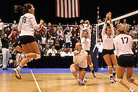 College of Charleston vs. Northeastern women's volleyball, NCAA, CAA, November 24, 2013<br /> <br /> Photographer: Al Samuels