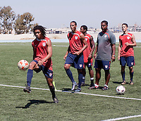 Zachary Herold training before the 2009 CONCACAF Under-17 Championship From April 21-May 2 in Tijuana, Mexico
