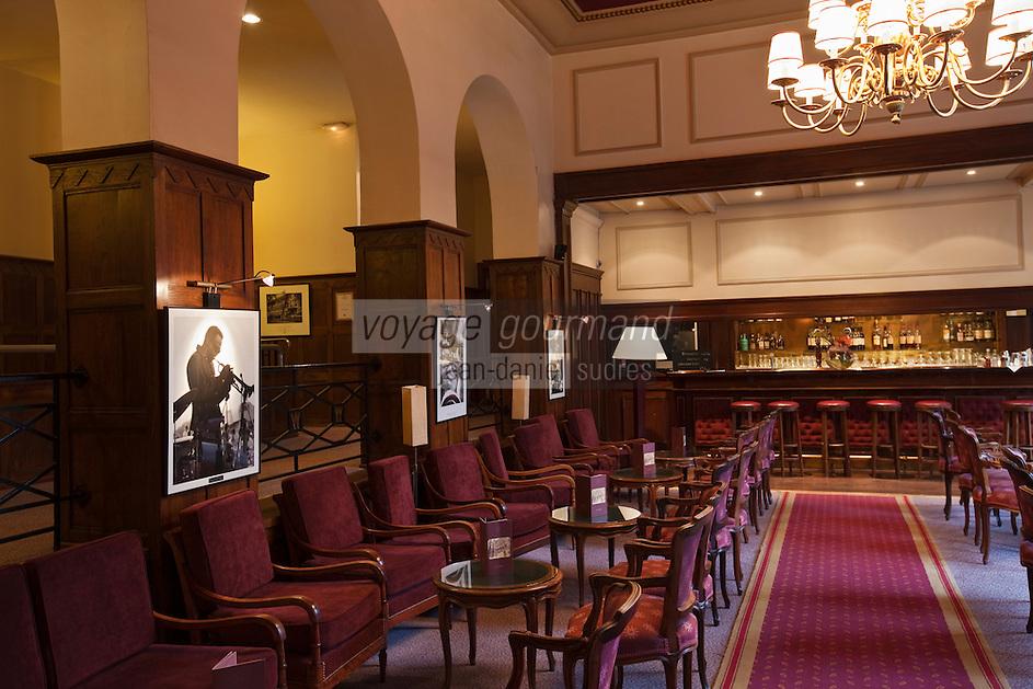 Europe/France/Nord-Pas-de-Calais/Pas-de-Calais/62/Le Touquet: Bar de l'Hôtel Westminster //  France, Pas de Calais, Le Touquet, the Hotel Westminster Bar