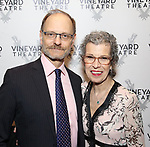 David Hyde Pierce and guest attends the Opening Night Performance of 'The Beast In The Jungle' at The Vineyard Theatre on May 23, 2018 in New York City.