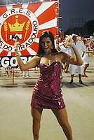 RIO DE JANEIRO-RJ DIA 29 DE JANEIRO DE 2012<br /> Na noite de domingo ensaio técnico da escola de samba unidos do viradouro, situado no sambódromo no centro do Rio de janeiro<br /> Musa do brasileirão Bianca Leão