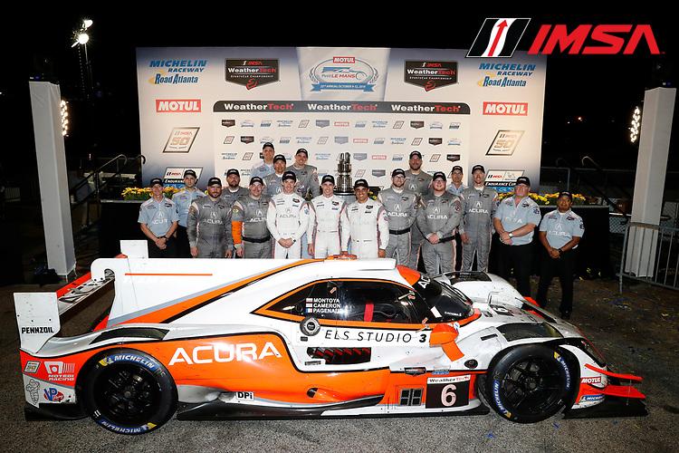 #6 Acura Team Penske Acura DPi, DPi: Juan Pablo Montoya, Dane Cameron, Simon Pagenaud, team