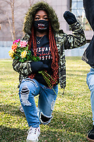 MARCH 29 - Minneapolis, MN: Protests and demonstrations outside the Hennepin County Courthouse a day before the start Derek Chauvin Trial on March 29, 2021 in  Minneapolis, Minnesota. <br /> CAP/MPI/IS/CT<br /> ©CT/IS/MPI/Capital Pictures