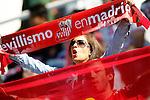 Sevilla FC's supporter during La Liga match. October 15,2016. (ALTERPHOTOS/Acero)