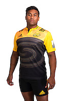 Julian Savea. Hurricanes Super Rugby official headshots at Rugby League Park, Wellington, New Zealand on Wednesday, 6 January 2016. Photo: Dave Lintott / lintottphoto.co.nz