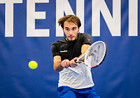 Amstelveen, Netherlands, 16  December, 2020, National Tennis Center, NTC, NK Indoor, National  Indoor Tennis Championships, : Guy den Heijer (NED) <br /> Photo: Henk Koster/tennisimages.com