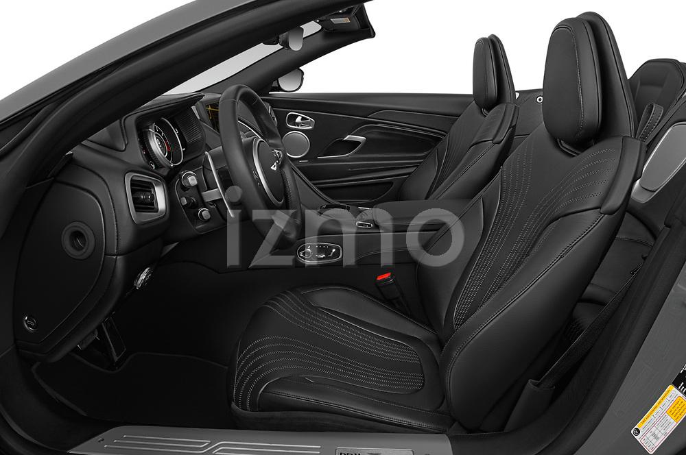 Front seat view of 2018 Aston Martin DB11-Volante - 2 Door Convertible Front Seat  car photos