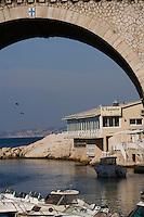 """Europe/France/Provence-Alpes-Côte d'Azur/13/Bouches-du-Rhône/Marseille: Restaurant  """"L'Epuisette"""" au vallon des Auffes"""