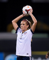 Kristie Mewis. The USWNT tied New Zealand, 1-1, at an international friendly at Crew Stadium in Columbus, OH.