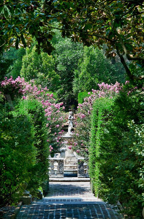 The Elizabethan Gardens, Roanoke Island, North Carolina, USA,