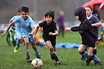 NELSON, NEW ZEALAND - Saturday morning kids football. Saxton Field, Nelson. New Zealand. Saturday 19 June 2021. (Photo by Chris Symes/Shuttersport Limited)