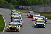 #17: JDC-Miller MotorSports Audi RS3 LMS SEQ, TCR: Chris Miller, Mikey Taylor, #73: LA Honda World Racing Honda Civic FK7 TCR, TCR: Mike LaMarra, Mat Pombo