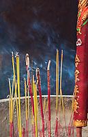 "Thien Hau Pagoda. Cholon, Ho Chi Minh City, Saigon<br /> Chùa Bà Thiên Hậu is a Chinese style temple located on Nguyễn Trãi Street in the Cho Lon, District 5 of Ho Chi Minh City, Vietnam. It is dedicated to Thiên Hậu, the Lady of the Sea, who is also known as ""Mazu""."