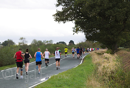 09 SEP 2011 - CHESTER, GBR - MBNA Chester Marathon .(PHOTO (C) NIGEL FARROW)