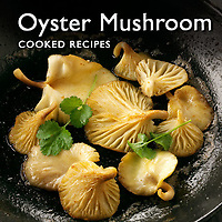 Food Pictures of Oyster Mushroom Cooked Recipe Dishes. Food Images & Photos