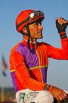AUG 22 ,2015: Beholder,ridden by Gary Stevens,wins the TVG Pacific Classic at Del Mar Race Track in Del Mar,CA. Kazushi Ishida/ESW/CSM