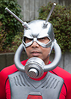 Ant-Man Cosplay by Dylan, Lost At the Con, Emerald City Comicon, Seattle, Wa.