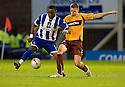 :: DAVID SILVA HOLDS OFF MOTHERWELL'S STEVEN SAUNDERS  ::.11/05/2011 sct_jsp018_motherwell_v_kilmarnock     .Copyright  Pic : James Stewart.James Stewart Photography 19 Carronlea Drive, Falkirk. FK2 8DN      Vat Reg No. 607 6932 25.Telephone      : +44 (0)1324 570291 .Mobile              : +44 (0)7721 416997.E-mail  :  jim@jspa.co.uk.If you require further information then contact Jim Stewart on any of the numbers above.........