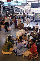 Asie, Inde, Maharashtra, Bombay : Gare de Victoria Station // Asia, India, Maharashtra, Mumbai: Victoria Station