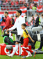 Sami Khedira (Deutschland Germany) - 02.06.2018: Österreich vs. Deutschland, Wörthersee Stadion in Klagenfurt am Wörthersee, Freundschaftsspiel WM-Vorbereitung