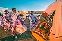 Grupo de dança tipica Marabaixo. Macapa. Amapa. 2015. Foto de Ubirajara Machado.
