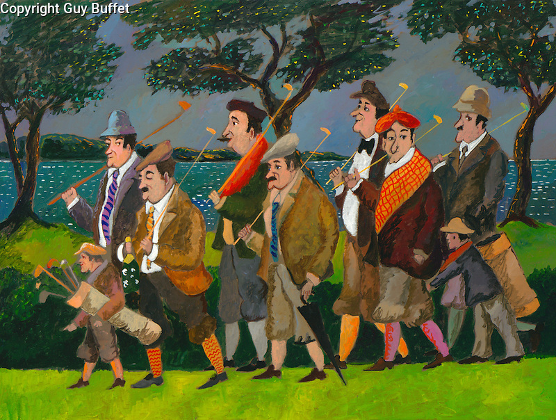 """Jean Pierre & His Gang at Pebble Beach""<br />