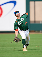 Mosley Dolphins outfielder Jaden  Rudd (24) during practice before the 42nd Annual FACA All-Star Baseball Classic on June 5, 2021 at Joker Marchant Stadium in Lakeland, Florida.  (Mike Janes/Four Seam Images)