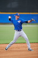 Toronto Blue Jays JC Cardenas (7) during an instructional league game against the Philadelphia Phillies on September 28, 2015 at the Englebert Complex in Dunedin, Florida.  (Mike Janes/Four Seam Images)