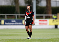 28th March 2021; Rosslyn Park, London, England; Betfred Challenge Cup, Rugby League, London Broncos versus York City Knights; Josh Walters of London Broncos