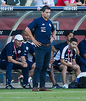 CARSON, CA - FEBRUARY 1: Ronald Gonzalez head coach of Costa Rica during a game between Costa Rica and USMNT at Dignity Health Sports Park on February 1, 2020 in Carson, California.