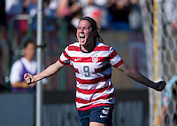 Heather O'Reilly.  The USWNT defeated Costa Rica, 8-0, during a friendly match at Sahlen's Stadium in Rochester, NY.