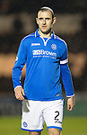 St Mirren v St Johnstone...25.03.14    SPFL<br /> Dave Mackay<br /> Picture by Graeme Hart.<br /> Copyright Perthshire Picture Agency<br /> Tel: 01738 623350  Mobile: 07990 594431