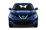 Car photography straight front view of a 2019 Nissan Rogue Sport SL 5 Door SUV